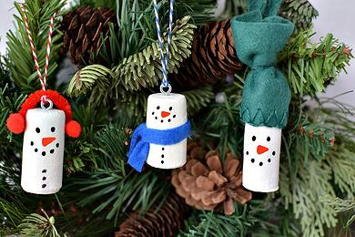 1-Homemade-Snowman-Christmas-Tree-Ornaments